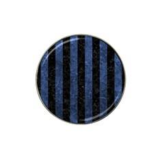 STR1 BK-MRBL BL-STONE Hat Clip Ball Marker (4 pack)
