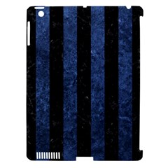 STR1 BK-MRBL BL-STONE Apple iPad 3/4 Hardshell Case (Compatible with Smart Cover)