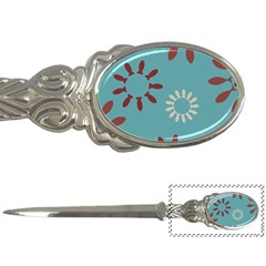 Fish Animals Star Brown Blue White Letter Openers