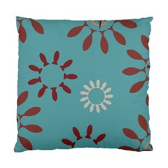 Fish Animals Star Brown Blue White Standard Cushion Case (One Side)