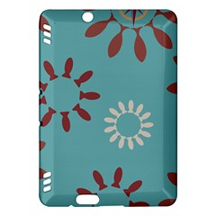 Fish Animals Star Brown Blue White Kindle Fire HDX Hardshell Case