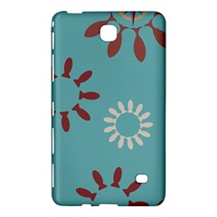 Fish Animals Star Brown Blue White Samsung Galaxy Tab 4 (7 ) Hardshell Case