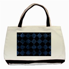 SQR2 BK-MRBL BL-STONE Basic Tote Bag