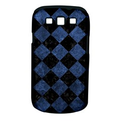 Square2 Black Marble & Blue Stone Samsung Galaxy S Iii Classic Hardshell Case (pc+silicone)