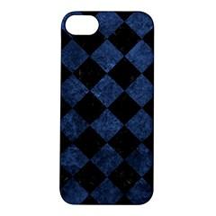 SQR2 BK-MRBL BL-STONE Apple iPhone 5S/ SE Hardshell Case