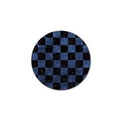 SQR1 BK-MRBL BL-STONE Golf Ball Marker (4 pack)