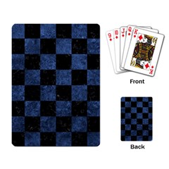 SQR1 BK-MRBL BL-STONE Playing Card