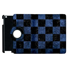 SQR1 BK-MRBL BL-STONE Apple iPad 3/4 Flip 360 Case