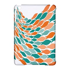 Fish Color Rainbow Orange Blue Animals Sea Beach Apple iPad Mini Hardshell Case (Compatible with Smart Cover)