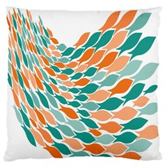 Fish Color Rainbow Orange Blue Animals Sea Beach Standard Flano Cushion Case (One Side)