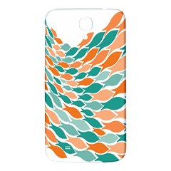 Fish Color Rainbow Orange Blue Animals Sea Beach Samsung Galaxy Mega I9200 Hardshell Back Case