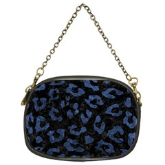 SKN5 BK-MRBL BL-STONE (R) Chain Purses (Two Sides)