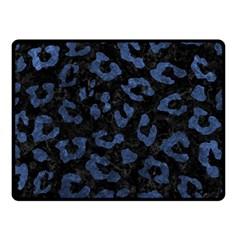SKN5 BK-MRBL BL-STONE (R) Double Sided Fleece Blanket (Small)