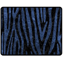 SKN4 BK-MRBL BL-STONE (R) Fleece Blanket (Medium)