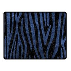 SKN4 BK-MRBL BL-STONE (R) Double Sided Fleece Blanket (Small)