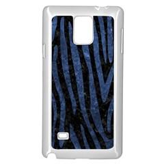 SKN4 BK-MRBL BL-STONE (R) Samsung Galaxy Note 4 Case (White)