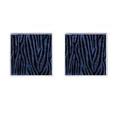 SKN4 BK-MRBL BL-STONE Cufflinks (Square)