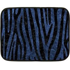 SKN4 BK-MRBL BL-STONE Double Sided Fleece Blanket (Mini)