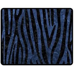 SKN4 BK-MRBL BL-STONE Fleece Blanket (Medium)