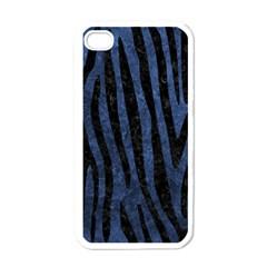 SKN4 BK-MRBL BL-STONE Apple iPhone 4 Case (White)
