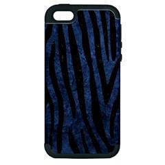 SKN4 BK-MRBL BL-STONE Apple iPhone 5 Hardshell Case (PC+Silicone)