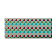 Large Circle Rainbow Dots Color Red Blue Pink Cosmetic Storage Cases