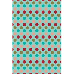 Large Circle Rainbow Dots Color Red Blue Pink 5.5  x 8.5  Notebooks
