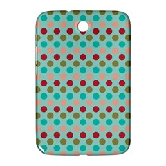 Large Circle Rainbow Dots Color Red Blue Pink Samsung Galaxy Note 8 0 N5100 Hardshell Case