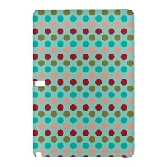 Large Circle Rainbow Dots Color Red Blue Pink Samsung Galaxy Tab Pro 10.1 Hardshell Case