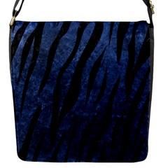 SKN3 BK-MRBL BL-STONE (R) Flap Messenger Bag (S)