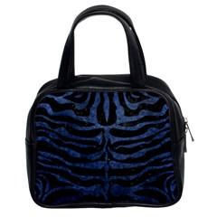 SKN2 BK-MRBL BL-STONE Classic Handbags (2 Sides)