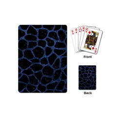 SKN1 BK-MRBL BL-STONE (R) Playing Cards (Mini)