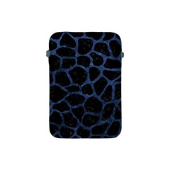 SKN1 BK-MRBL BL-STONE (R) Apple iPad Mini Protective Soft Cases