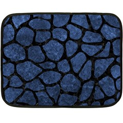 SKN1 BK-MRBL BL-STONE Fleece Blanket (Mini)