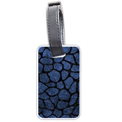 SKN1 BK-MRBL BL-STONE Luggage Tags (One Side)