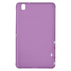 Purple Flagred White Star Samsung Galaxy Tab Pro 8.4 Hardshell Case