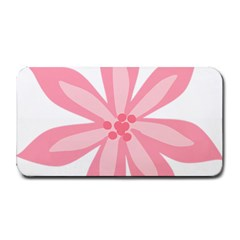Pink Lily Flower Floral Medium Bar Mats