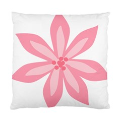 Pink Lily Flower Floral Standard Cushion Case (Two Sides)