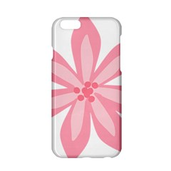 Pink Lily Flower Floral Apple iPhone 6/6S Hardshell Case