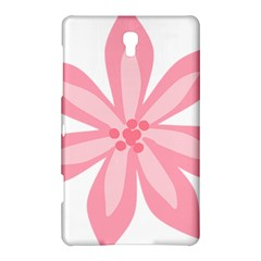 Pink Lily Flower Floral Samsung Galaxy Tab S (8.4 ) Hardshell Case