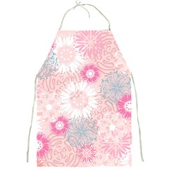 Flower Floral Sunflower Rose Pink Full Print Aprons
