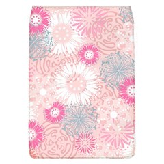 Flower Floral Sunflower Rose Pink Flap Covers (L)