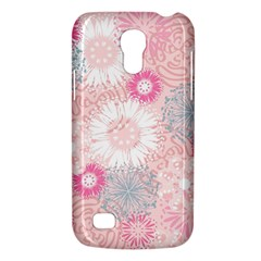 Flower Floral Sunflower Rose Pink Galaxy S4 Mini