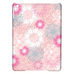 Flower Floral Sunflower Rose Pink iPad Air Hardshell Cases