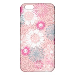 Flower Floral Sunflower Rose Pink Iphone 6 Plus/6s Plus Tpu Case