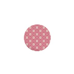 Pink Flower Floral 1  Mini Buttons