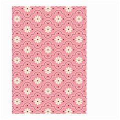 Pink Flower Floral Small Garden Flag (Two Sides)