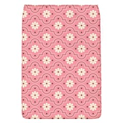 Pink Flower Floral Flap Covers (S)
