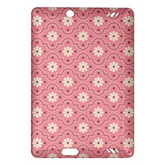 Pink Flower Floral Amazon Kindle Fire HD (2013) Hardshell Case
