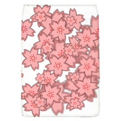 Flower Floral Pink Flap Covers (L)